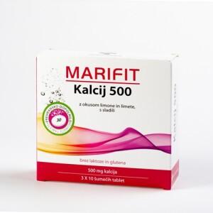 MARIFIT KALCIJ 500MG 30 ŠUM.TBL. -0