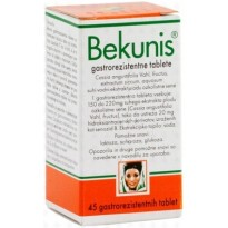 Bekunis gastrorezistentne tablete