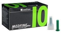 Wellion Medfine plus 10 igle za peresnike, 100 igel -0