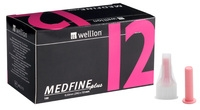 Wellion Medfine plus 12 igle za peresnike, 100 igel -0