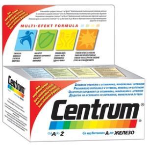 CENTRUM A-Ž LUTEIN TBL 60X PFIZ -0