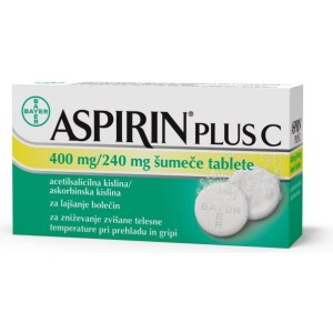 ASPIRIN PLUS C ŠUM TBL 20 -0