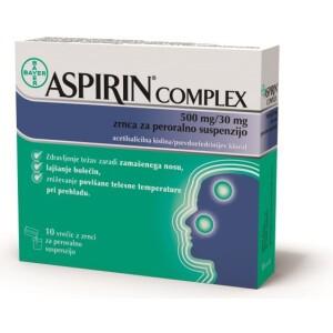 ASPIRIN COMPLEX 500/30MG ZRN 10XBAYH -0