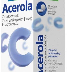 ACEROLA VIT C ŽVE.TBL 90X -0