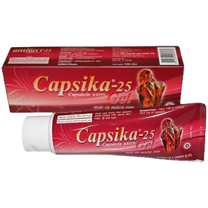 CAPSIKA 25 GEL 35G ALLP -0