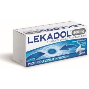 LEKADOL 500MG FILM TBL 30X LEK -0