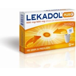 LEKADOL PLUS C ZRNCA 10X5G LEK -0