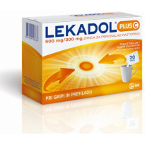 LEKADOL PLUS C 300/500MG ZRN 20X LEK -0