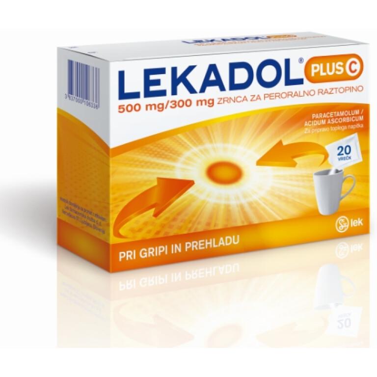 LEKADOL PLUS C 300/500MG ZRN 20X LEK -0