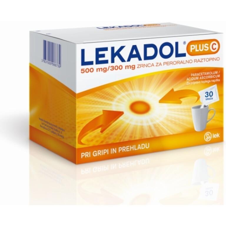 LEKADOL PLUS C 500/300MG ZRN 30X LEK -0