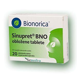 SINUPRET BNO TBL 20X AKC10X+VZ BION -0