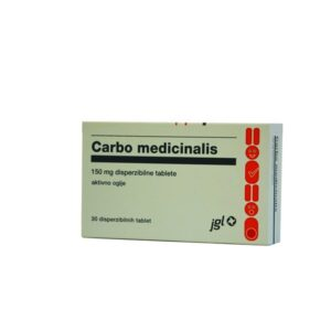 CARBO MEDIC.TBL.30X150MG -0