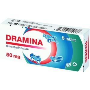 DRAMINA 50MG TBL 5X JADR -0