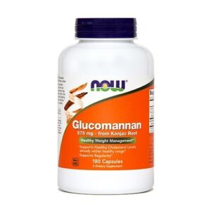 NOW GLUKOMANNAN 575MG KPS 180X NOW -0