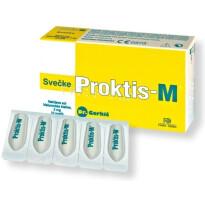 PROKTIS M SVEČKE 2G 10X FARD -0