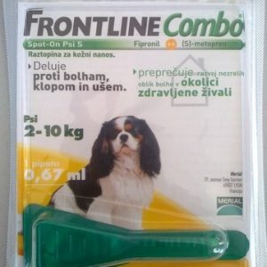 FRONTLINE COMBO DOG S 10X0,67 -0