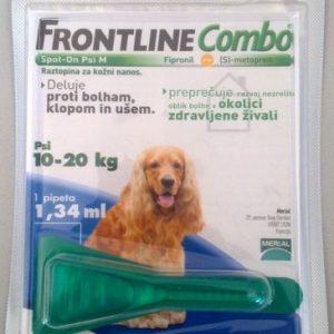 FRONTLINE COMBO DOG M 10X1,34 -0