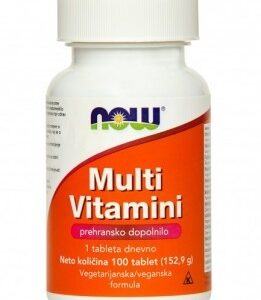 NOW MULTIVITAMIN TBL 100X AKC5+1 NOW -0