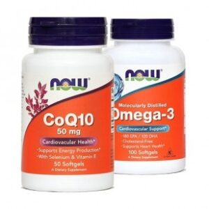 NOW KOENCIM Q10 50MG+OMEGA3 PAK NOW -0