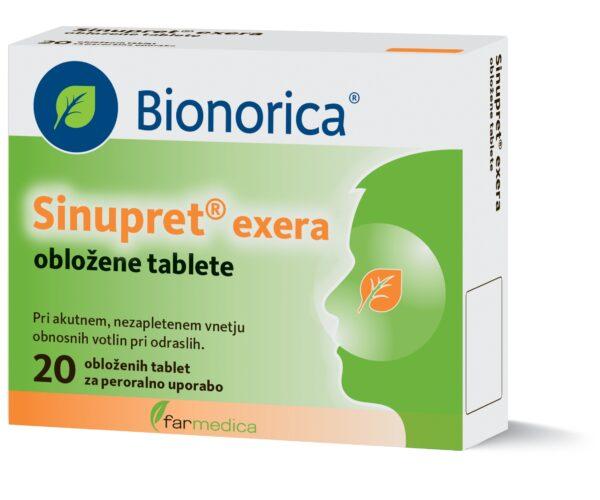 SINUPRET EXERA OBL TBL 20X      BION    -0