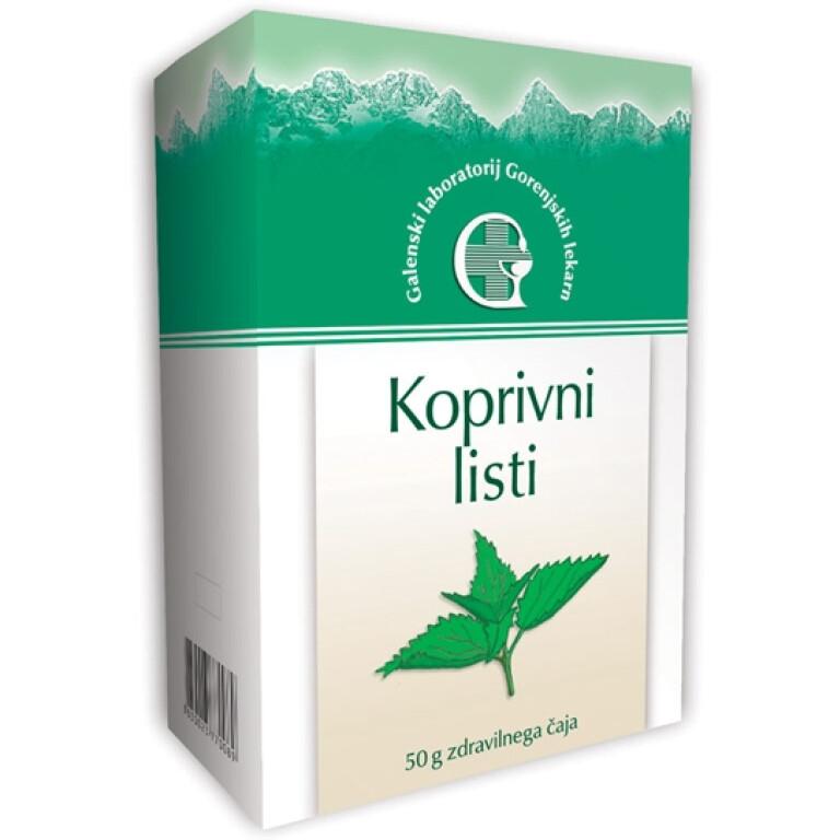 KOPRIVA - LISTI 50G VREČKA -0