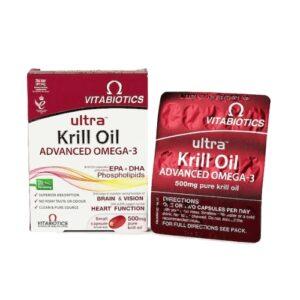 ULTRA KRILL OIL KPS 30X VITA -0