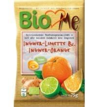 BIO bonboni ingver limeta in pomaranča BioLovesMe, 75 g -0