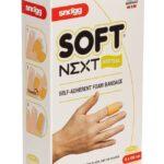 Snogg Soft Next, samolepljivi elastični zaščitni povoj-rjav, 6x100 cm -0