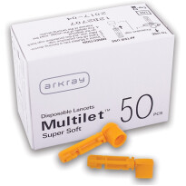 Glucocard Multilet supersoft lancete, 50 lancet
