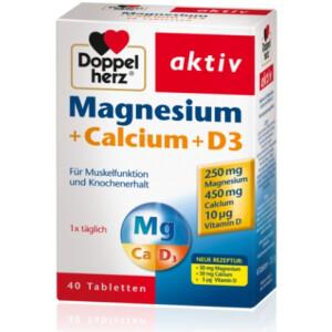 DH AKTIV MG+CA+D3 TBL 40X QUEI -0