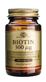 SOLGAR BIOTIN 300MCG -0