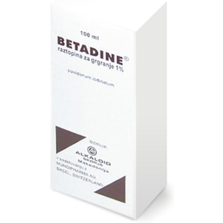 BETADINE 10 mg/ml raztopina za grgranje