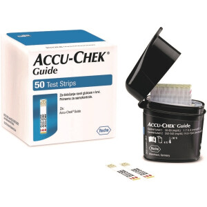 ACCUCHEK GUIDE GLU 50X 7453736 ROCH -0