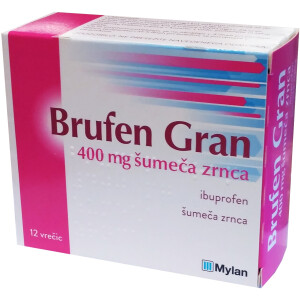 BRUFEN GRAN 400MG ŠUM ZRN VR 12XFALI -0