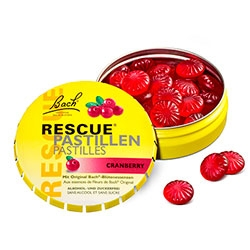 Bach RESCUE pastile - brusnica, 50 g -0