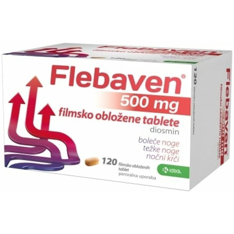 FLEBAVEN 500MG FILM TBL 120X KRKA -0