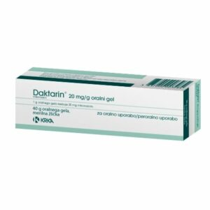 Daktarin 20 mg/g oralni gel, 40 g -0