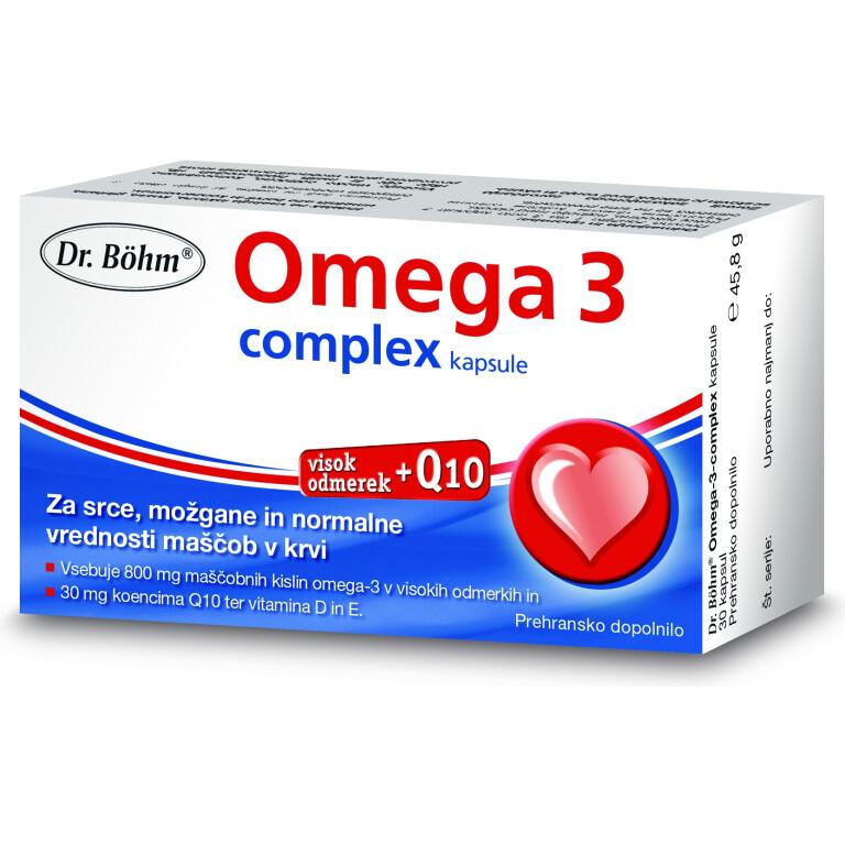OMEGA 3 COMPLEX DR.BOHM 30CPS           -0