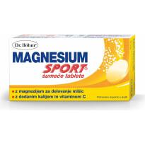 Dr. Böhm, Magnesium Sport šumeče tablete, 40 šumečih tablet -0