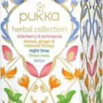 Pukka, Mešanica zeliščnih okusov, 20 čajnih vrečk (5 x 4 različni čaji)-0