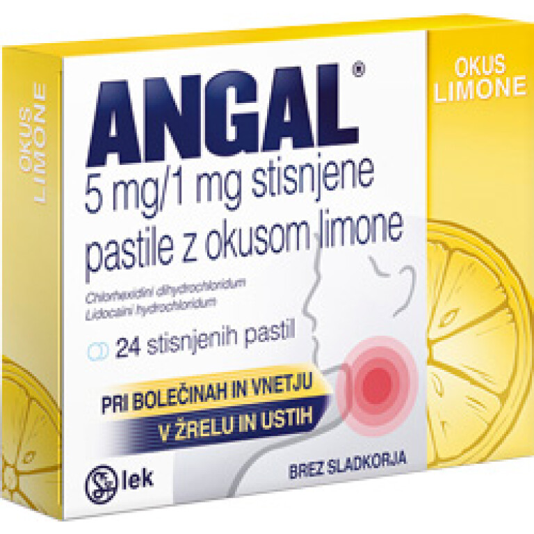 ANGAL 5MG/1MG LIMONA PASTIL 24X LEK -0
