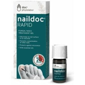 Naildoc RAPID, gel za zdravljenje glivične okužbe na nohtih, 5 ml-0