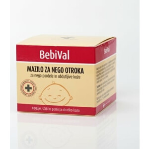 BEBIVAL MAZILO ZA NEGO OTROKA,LONČ. 50ML-0