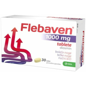 FLEBAVEN 1000MG FILM TBL 30X KRKA -0