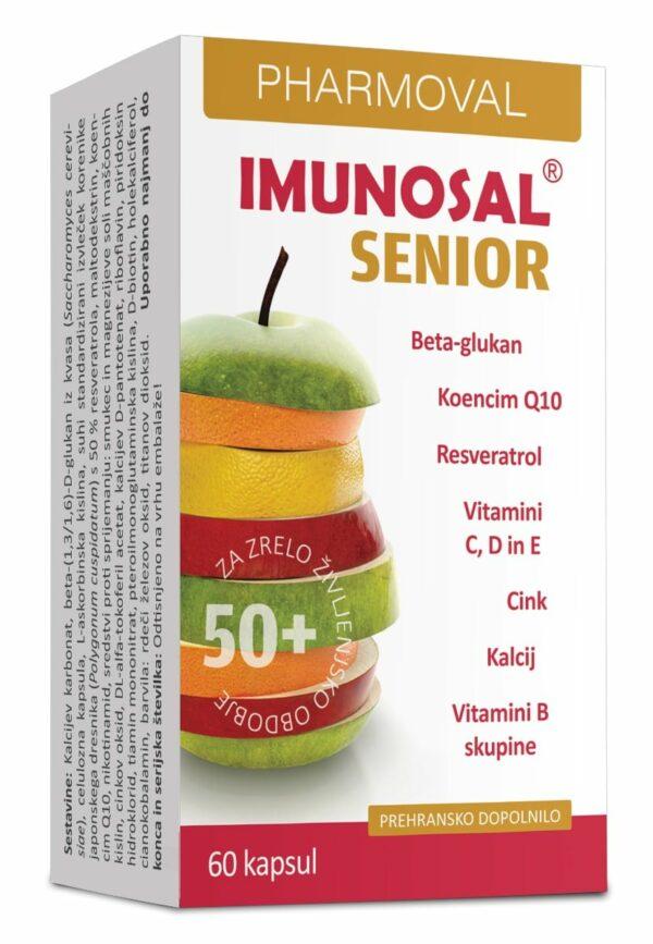 Imunosal Senior 50+, 60 kapsul -0