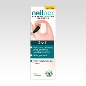 NAILNER BRUSH 2V1 LAK 5ML YOUM -0