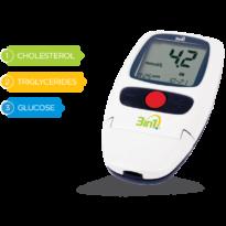 3in1 Merilnik za nadzor krvnega sladkorja, skupnega holesterola in trigliceridov v krvi.