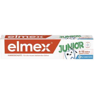 4007965505904 Elmex Junior Zobna Krema 6 12 75 Ml 60033