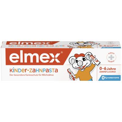 4007965508004 Elmex OtroŠka Zobna Krema 0 6 50 Ml 60029
