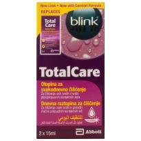 Blink Totalcare Dezinfekcija 2x15 Ml